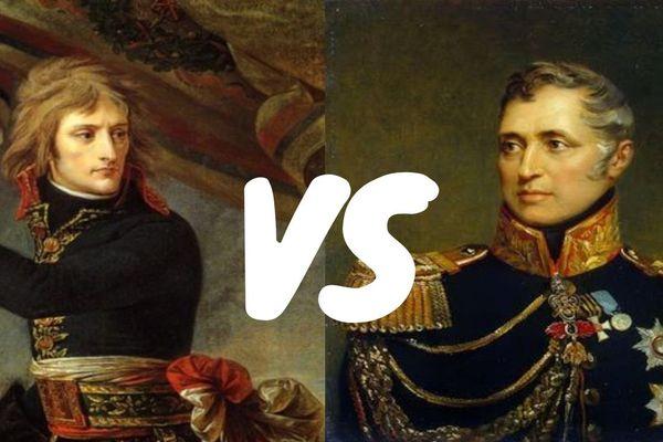 Napoléon Bonaparte et Charles André Pozzo di Borgo