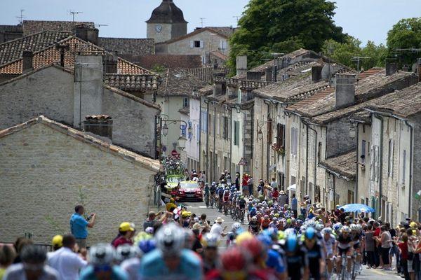 En 2012, le Tour passe par Brive-la-Gaillarde pour sa 18e étape.