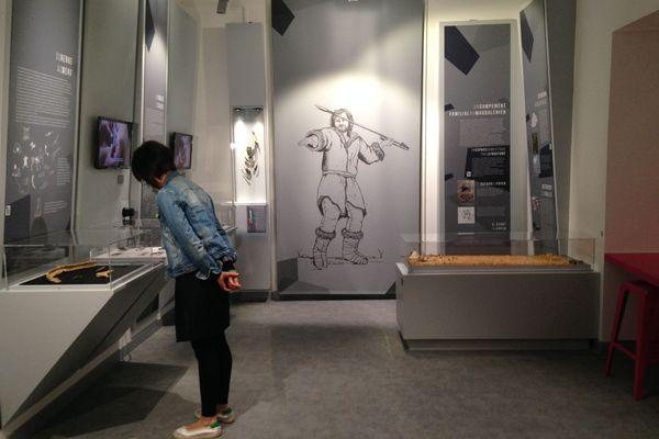 La nouvelle salle du musée Antoine Vivenel à Compiègne, inaugurée en février dernier, est consacrée à deux périodes de la préhistoire, le Paléocène et ici le Magdalénien.