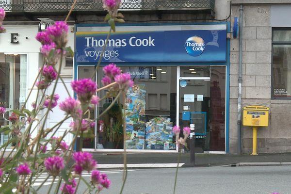 L'agence Thomas Cook du Guéret.