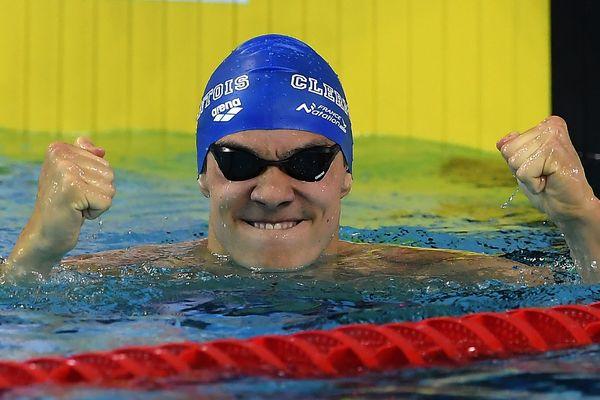 Aux championnats de France de Schiltigheim, mardi 23 mai,  Geoffroy Mathieu a décroché le titre de champion de France de natation dans sa spécialité : le 200m dos