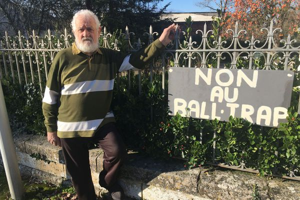 Henri Dalbavie, porte-parole du collectif des riverains contre le Ball-Trap
