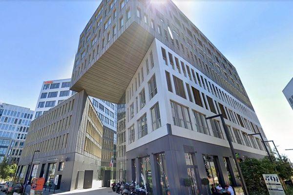 C'est dans le quartier Euratlantique à Bordeaux (rue des Gamins) que le programme européen de formation à l'étranger ERASMUS + est installé