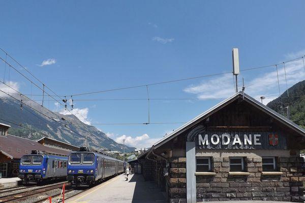 La gare de Modane a été évacuée à cause d'une fuite d'acide chlorhydrique.