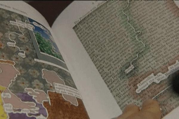 """L'exposition """"Les artistes face aux livres"""" est à découvrir jusqu'au 17 mai au Scriptorial d'Avranches"""