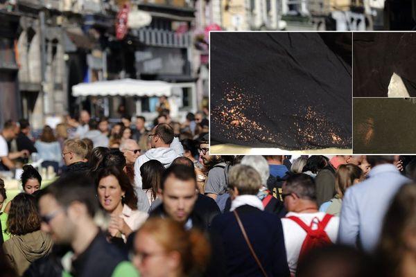 Des couples homosexuels ont reçu de l'eau de javel et de la peinture alors qu'ils se promenaient dans les allées de la braderie de Lille.