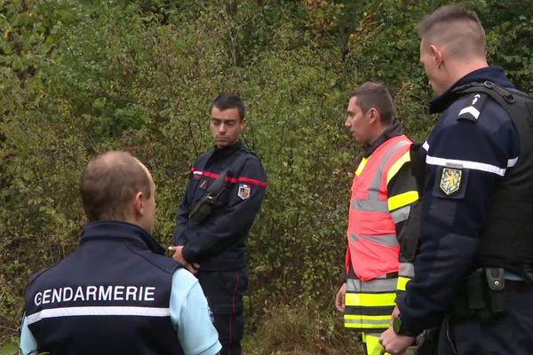 D'importants moyens de gendarmerie et de pompiers déployés sur le crash du petit avion ce matin dans le Doubs.