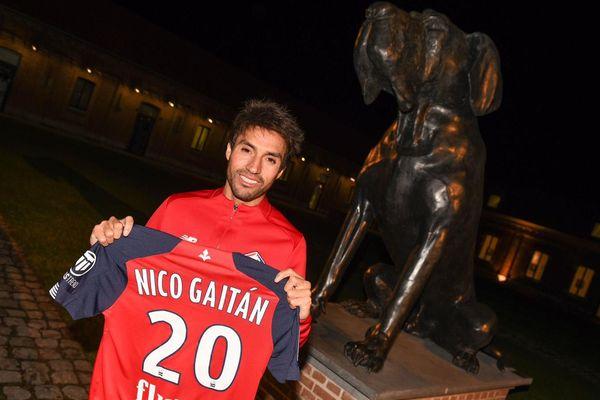L'Argentin Nicolas Gaitan vient renforcer l'attaque du LOSC.