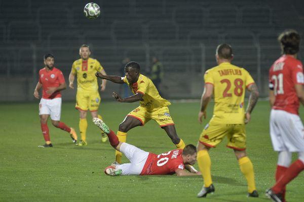 Nîmes Olympique rencontrait Quevilly vendredi 3 novembre