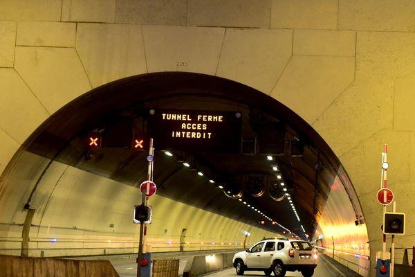 Photo d'illustration. Exercice de secours sous le tunnel de la Croix Rousse