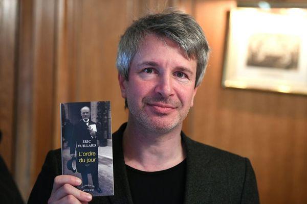 Éric Vuillard, écrivain vivant à Rennes