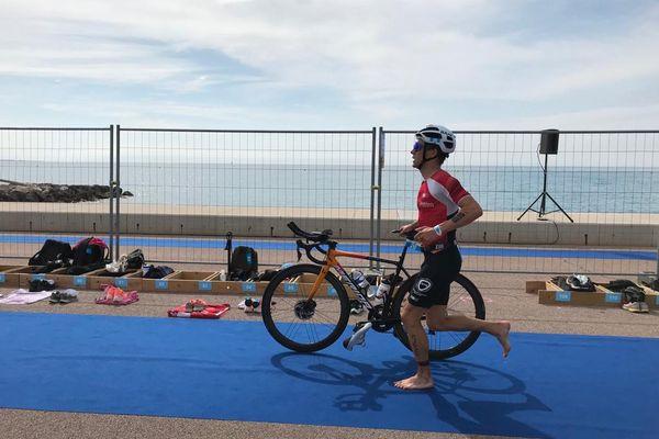 Le championnat de France de triathlon se dispute à Cagnes-sur-Mer ce dimanche.