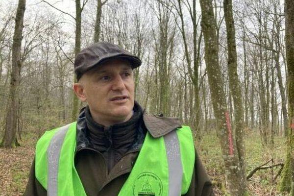 Michel Moreau. Maire de Lavallée et vice-président de l'Union régionale des communes forestières de Lorraine.