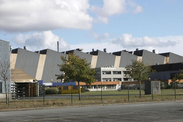 Le site de la Fonderie du Poitou Fonte à Ingrandes-sur-Vienne.