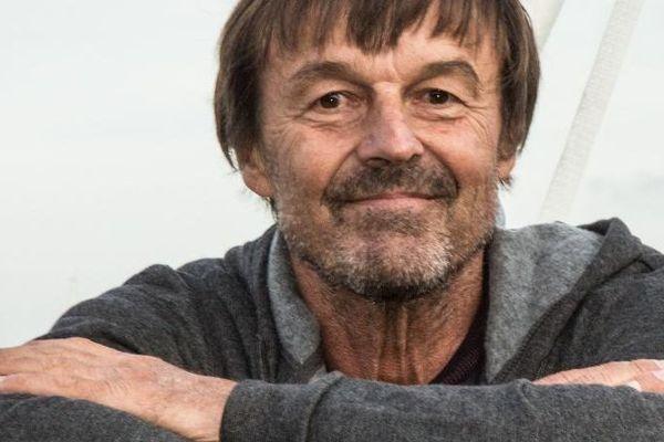 Nicolas Hulot, invité du collectif A Maffia Nò, a vita Iè