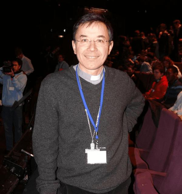 Monseigneur Hervé Gaschigniard, évêque de Dax, à Ecclesia Campus 2012 à Rennes