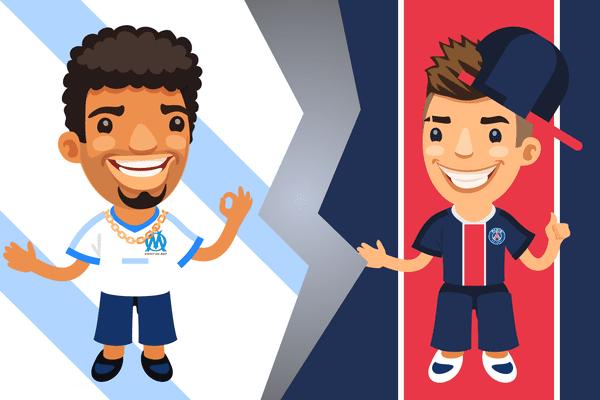 Dans les tribunes du stade de France, vous les reconnaîtrez forcément : les supporters de l'Olympique de Marseille, et ceux du PSG !