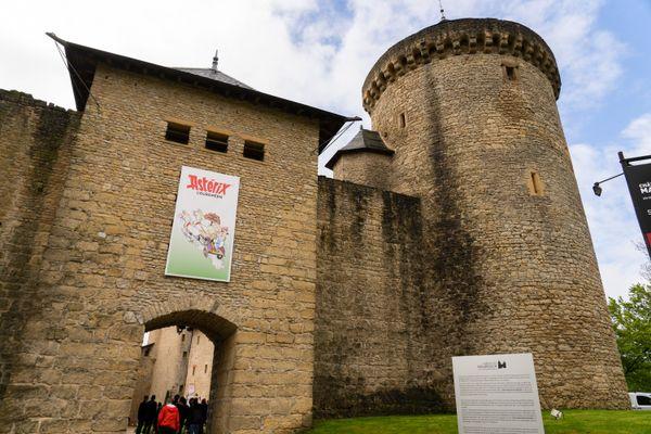 Le château de Malbrouck accueille une exposition profite des aventures d'Astérix pour parler d'Europe.