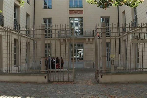 L'entrée du tribunal administratif de Rouen - Archives