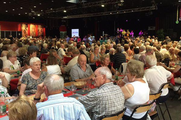 Un millier de seniors à la Foire ce lundi
