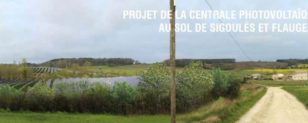 Le projet présenté par Photosol Développement, un des leaders français de la production d'énergie photovoltaïque