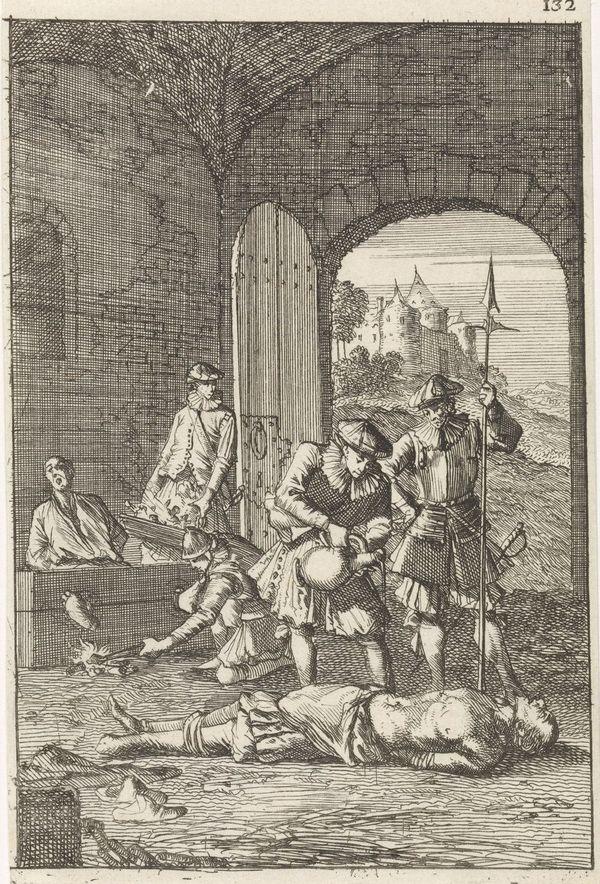 """""""Marteling van ketters in Atrecht"""" (""""Torture d'hérétiques à Arras"""")"""