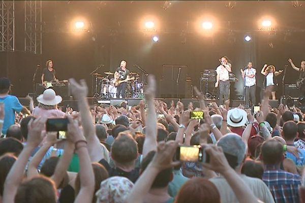 Près de 9000 spectateurs avaient assisté au concert de Sting, sur la scène du Rétro C Trop en 2018 lors de la 3ème édition du festival