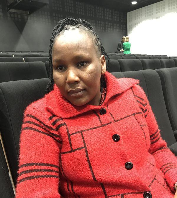 Magdalene Setia Kaitei, représentante du peuple Maasaï, venue défendre la forêt Mau