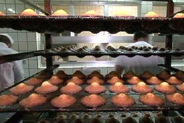 La production des madeleines de Liverdun.