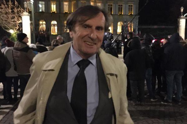 Daniel Rondeau a été élu à l'Académie française en juin 2019 et intégrera l'institution du quai Conti en juin 2020 / Epernay, 14 novembre