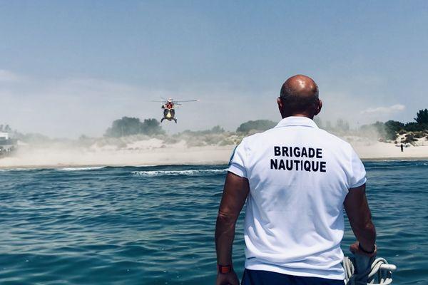 La brigade nautique de la police municipale, à la Grande Motte, dans l'Hérault.