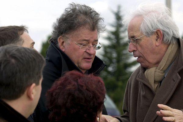 Georges Frêche et André Vézinhet en 2003