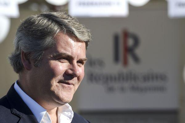 Franck Louvrier (ici lors de l'université d'été du parti Les Républicains à la Baule en août 2018) est le nouveau maire de La Baule-Escoublac ce 28 juin 2020.