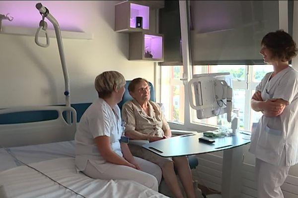 Le nouveau service de neurologie de l'hôpital de Saint-Lô : la technologie au service du bien-être