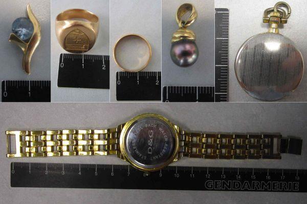 Pas moins de 70 bijoux ont été dérobés par des voleurs qui opéraient dans toute l'Auvergne.