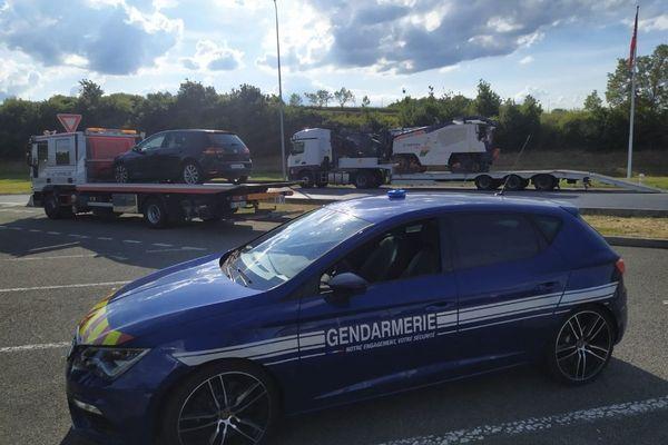 Samedi 12 juin, les gendarmes du Puy-de-Dôme ont flashé un conducteur sur l'A71 : il roulait à 212 km/h au lieu des 130 autorisés.