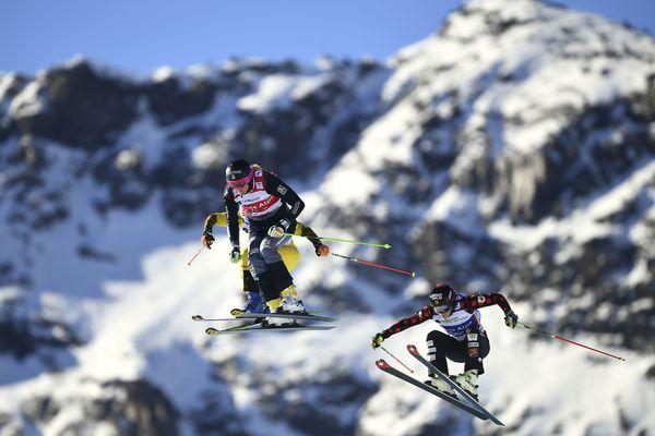 En 2016, lors du quart de finale de la coupe du monde skicross dames à Val Thorens.