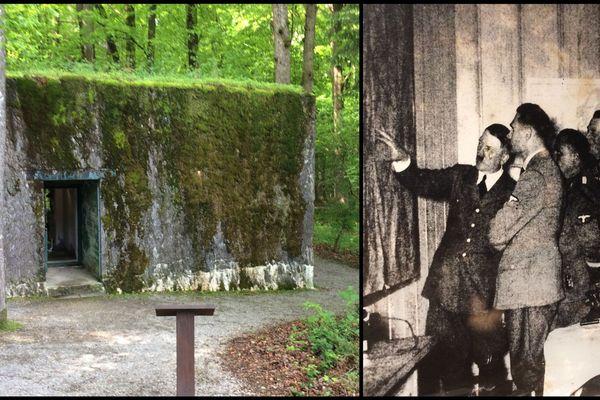 Le bunker de Brûly-de-Pesche dans les Ardennes belges a accueilli Hitler quelques jours en juin 1940.
