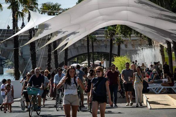 La 20e édition de Paris Plages a débuté ce samedi 10 juillet.