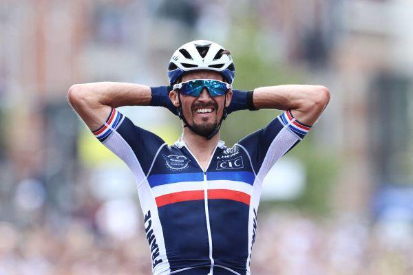 Le Bourbonnais Julian Alaphilippe a remporté les championnats du monde de cyclisme 2021 à Louvain en Belgique