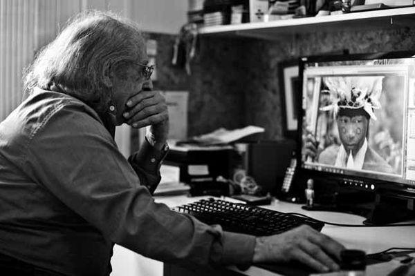 Yves Manciet au travail