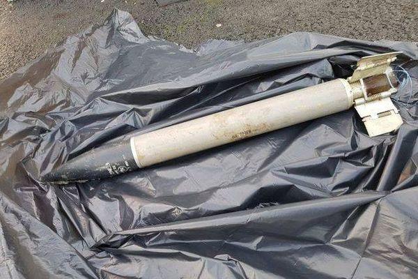 Une roquette inerte a été retrouvée dans une station de lavage du centre commercial Cap Saran.