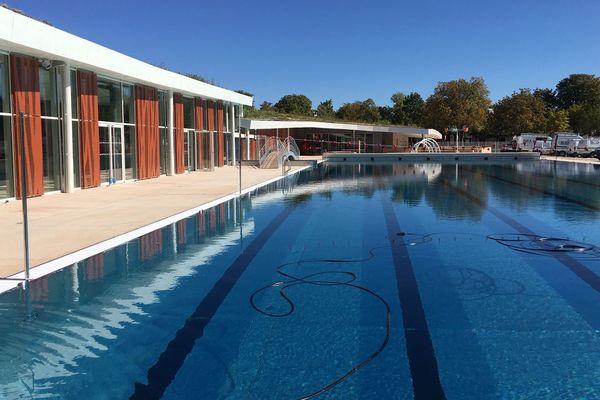 Nouvelle piscine du carrousel à Dijon