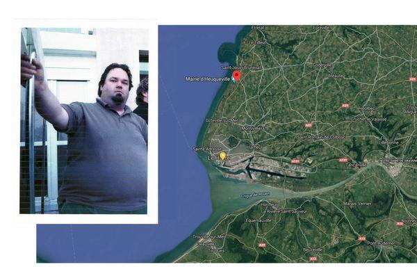 Arnaud Duvillié a disparu entre Turretot et Heuqueville (Seine-Maritime)