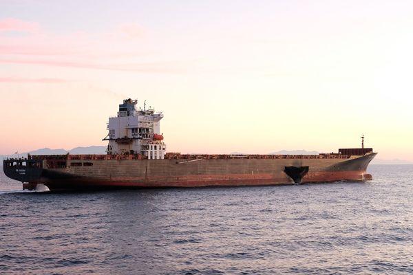 Le porte-conteneurs Virginia, percuté par le roulier Ulysse le 7 octobre a pu appareiller mardi et se dirige vers le port de Constanta en Roumanie.