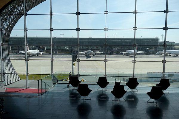 L'aéroport de Roissy-Charles-de-Gaulle a vu son activité fortement baisser en raison de la crise sanitaire.