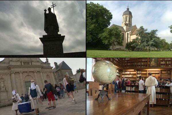 Une de nos équipes vous emmène découvrir l'abbaye de Juaye Mondaye.