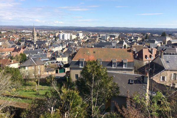 La ville de Guéret