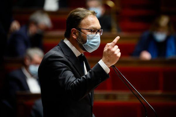 Patrick Mignola à l'Assemblée nationale à Paris le 24 novembre 2020.