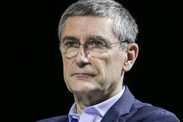 Frédéric Péchenard, ancien patron de la police nationale, vice-président LR de la région Île-de-France en charge des questions de sécurité, le 19 novembre 2019.